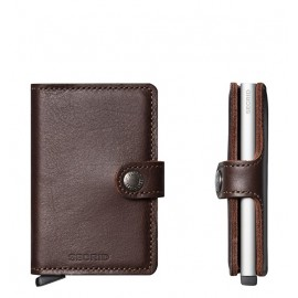 MINIWALLET ORIGINAL MARRON