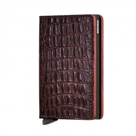 SLIMWALLET NILE MARRON